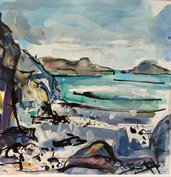 St Columba's Bay looking North, Iona (SOLD)