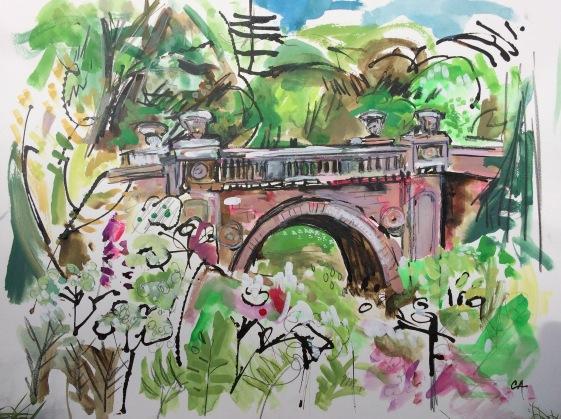 CA072 Clare Arbuthnott - Arbuthnott bridge