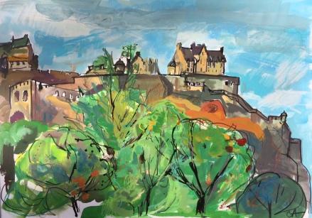 Edinburgh, Castle on a Rock