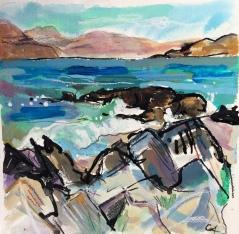 Rocks, Iona to Mull