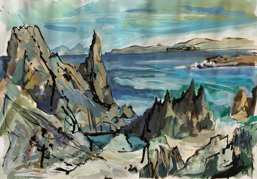 Skye, Staffa from Iona