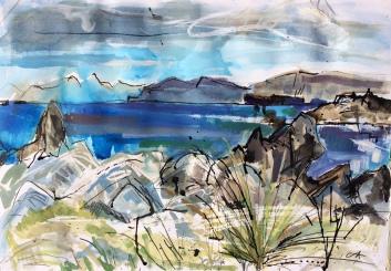 Over the seas to Skye