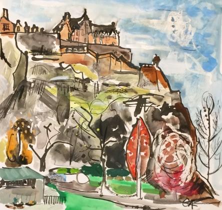 The Castle, April
