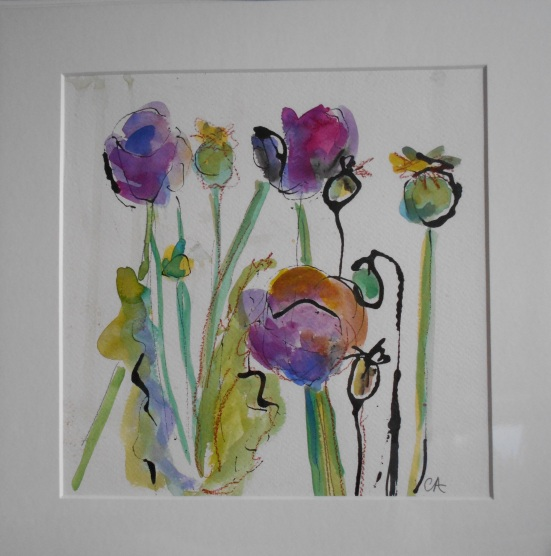 Poppies (SOLD)