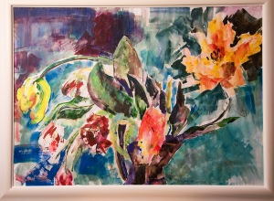 Tulips (acrylic)