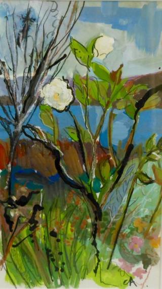 Small Rose on the Sound (SOLD)