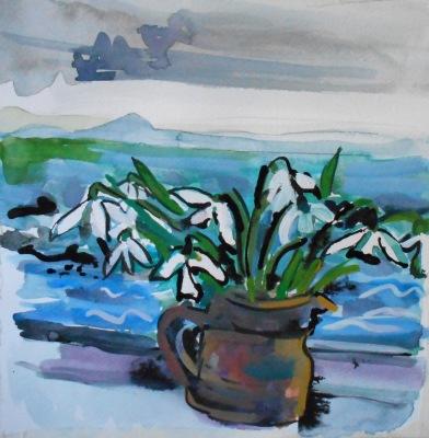 Snowdrops, Pittenweem (SOLD)