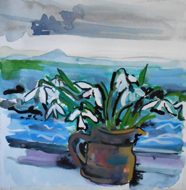 Snowdrops, Pittenweem (SOLD)