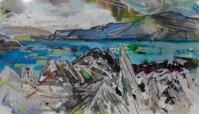 Stormy Skies to Mull (SOLD)