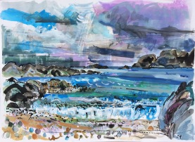 CA055 Clare Arbuthnott Wind, Water, Waves: St Columba's Bay, Iona