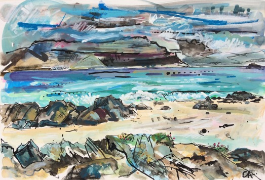 CA056 Clare Arbuthnott, The Sound of Iona