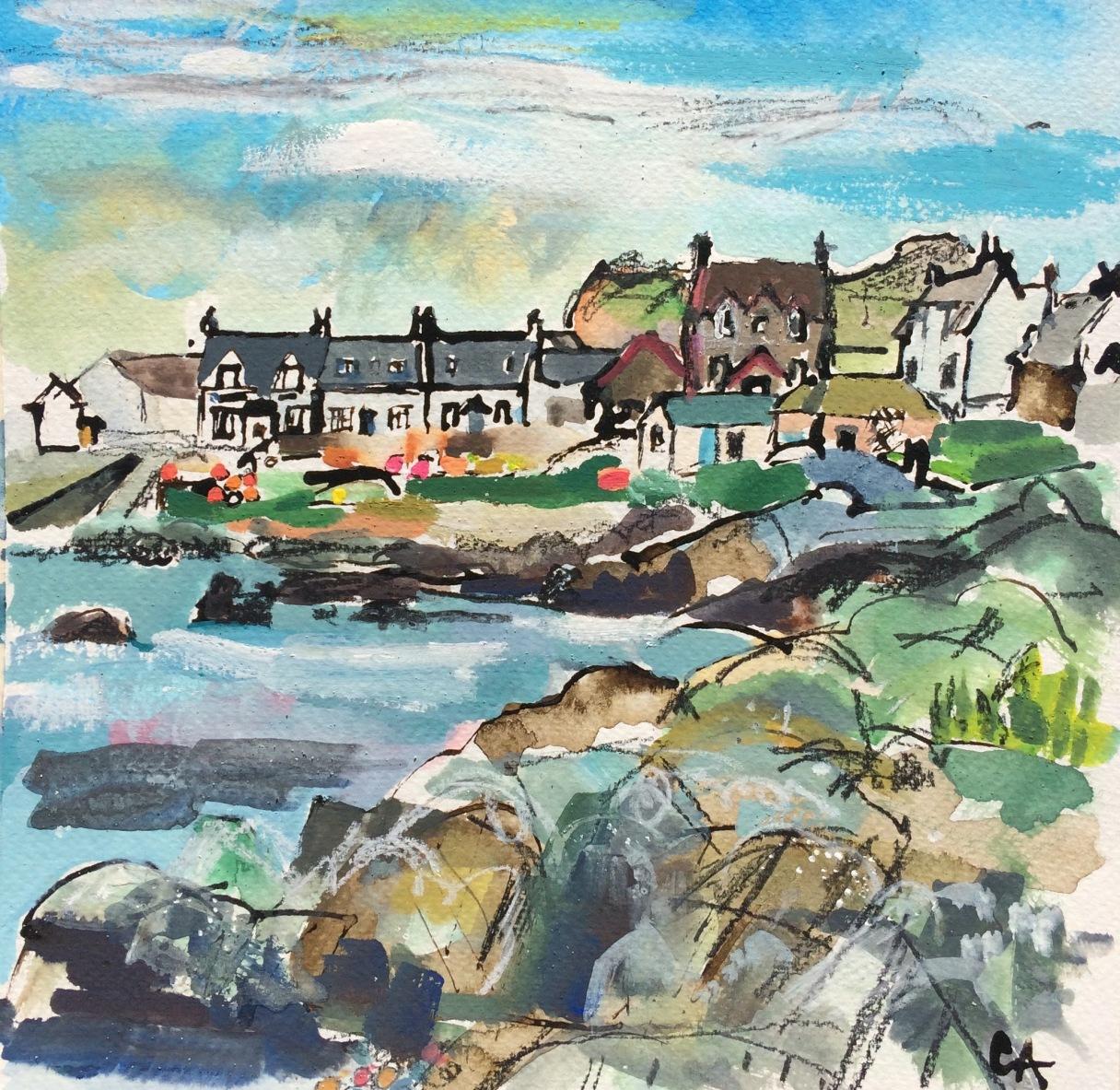 CA064 Clare Arbuthnott, Village Street, Iona