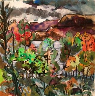 Autumn Colour Wester Ross CLARE ARBUTHNOTT