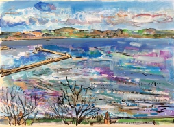 View across the North - commission (SOLD)