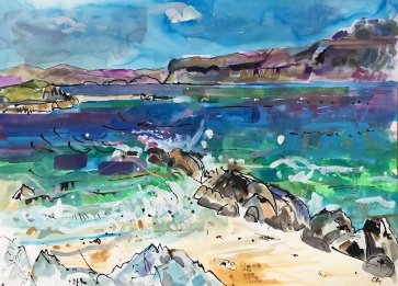 Windy Day, Iona (SOLD)