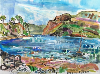 Loch Portree Skye
