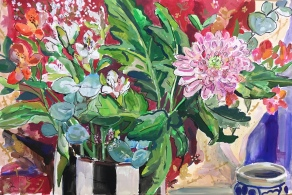 Chrysanthemum Still Life