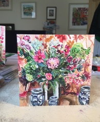 stilllife with chrysanthemum