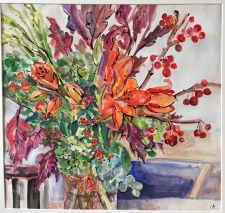 Lillies and Berries