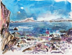 Jura from St Columba's Bay, Iona