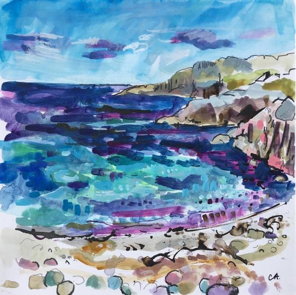 Three Headlands, Iona