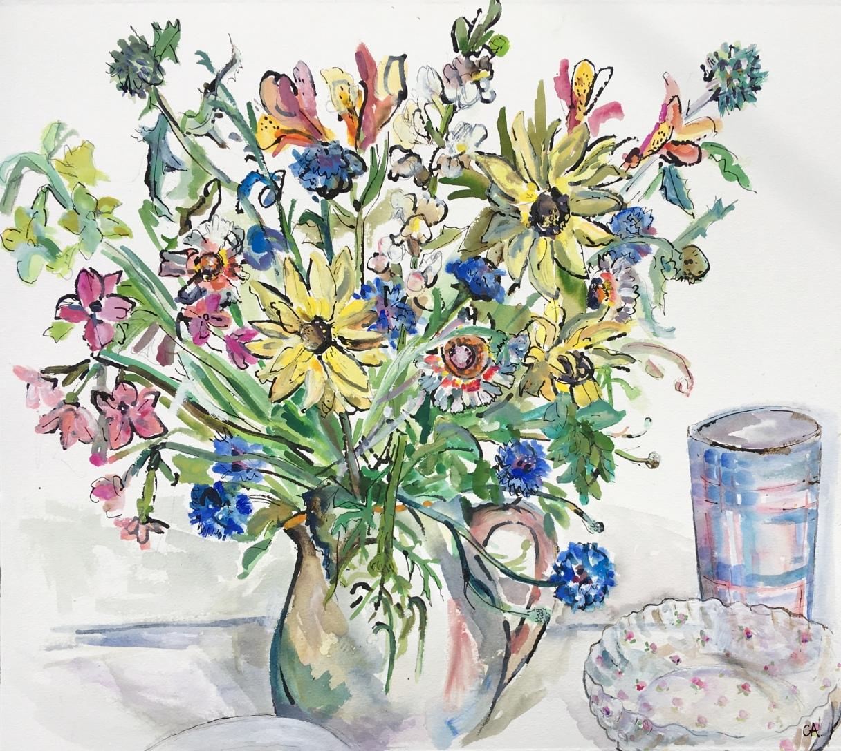 CA103 Garden Flowers CLARE ARBUTHNOTT