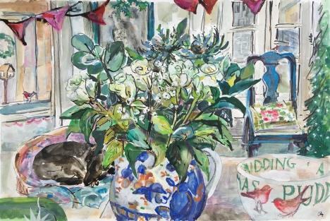 CA105 Winter Kitchen Clare Arbuthnott