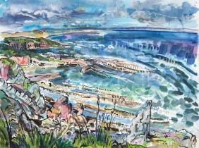 Cove (framed 96 x 77cm)