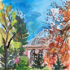 Royal Botanic Gardens Edinburgh Autumn