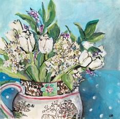 White Spring Bouquet