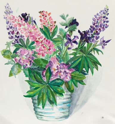 Lupin Bouquet